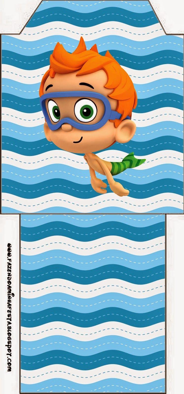 Bubble Guppies: Imprimibles Gratis para Fiestas. | New Table ...