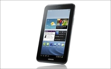 Samsung Kicks Off Android 4.0 Tablets With Galaxy Tab 2