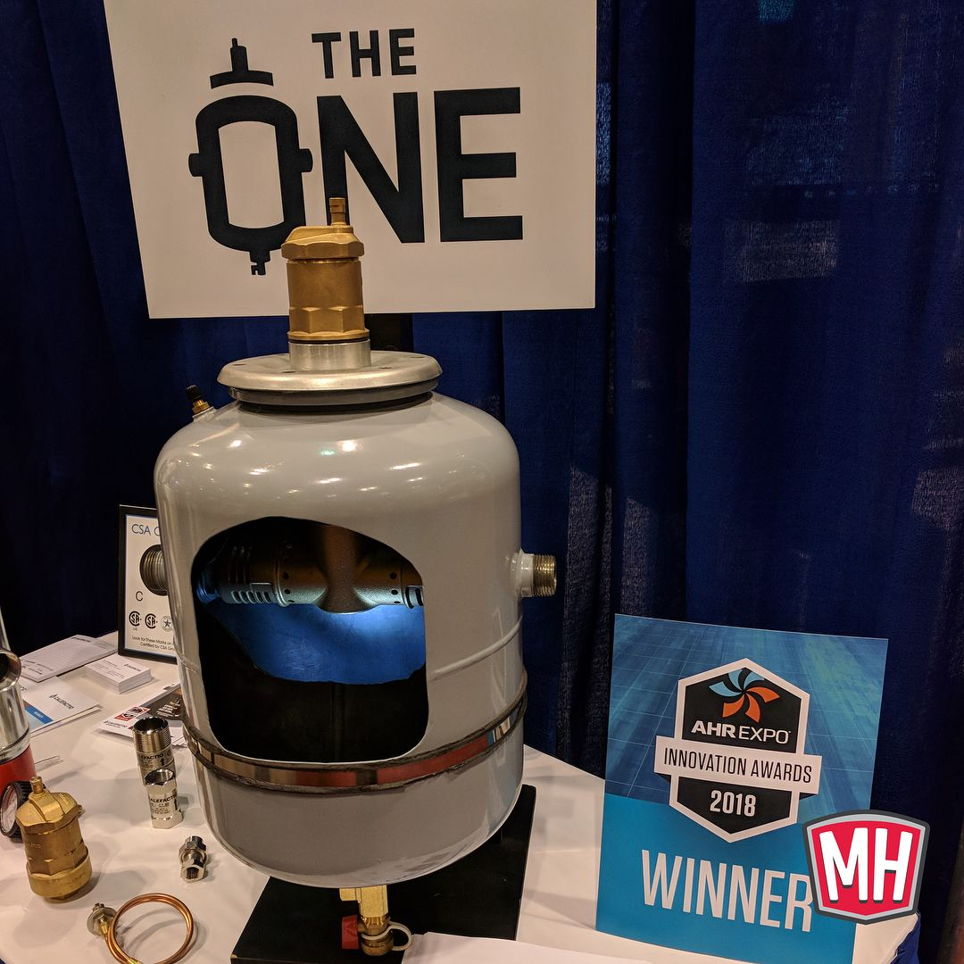 """The One"""" combination air eliminator, dirt separator"""