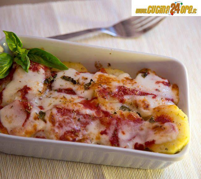 sformato di patate filanti alla pizzaiola