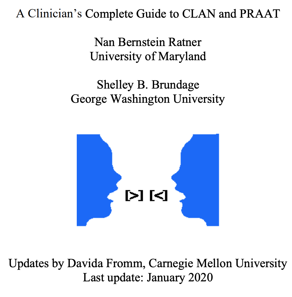 Clan And Praat George Washington University University Of Maryland Clan