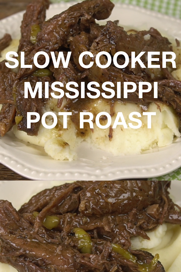 Slow Cooker Mississippi Pot Roast & Video  Moore or Less Cooking is part of Mississippi pot roast - The easiest, most delicious Beef Pot Roast that you make in your slow cooker! Only 7 ingredients are needed to make this incredible roast! I just want to put this out there… this happens to be the best roast that I have ever tasted  There I said it  What has taken me so long toContinue Reading