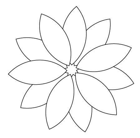 photo regarding Free Printable Flower Applique Patterns known as Pin through Shirley Douglas upon Embroidery habits and crafts