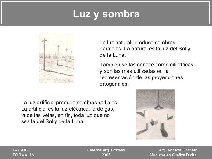 Luz Y Sombra La Luz Natural Produce Sombras Paralelas La Natural Es La Luz Del Luz Y Sombra Sombras Sombra