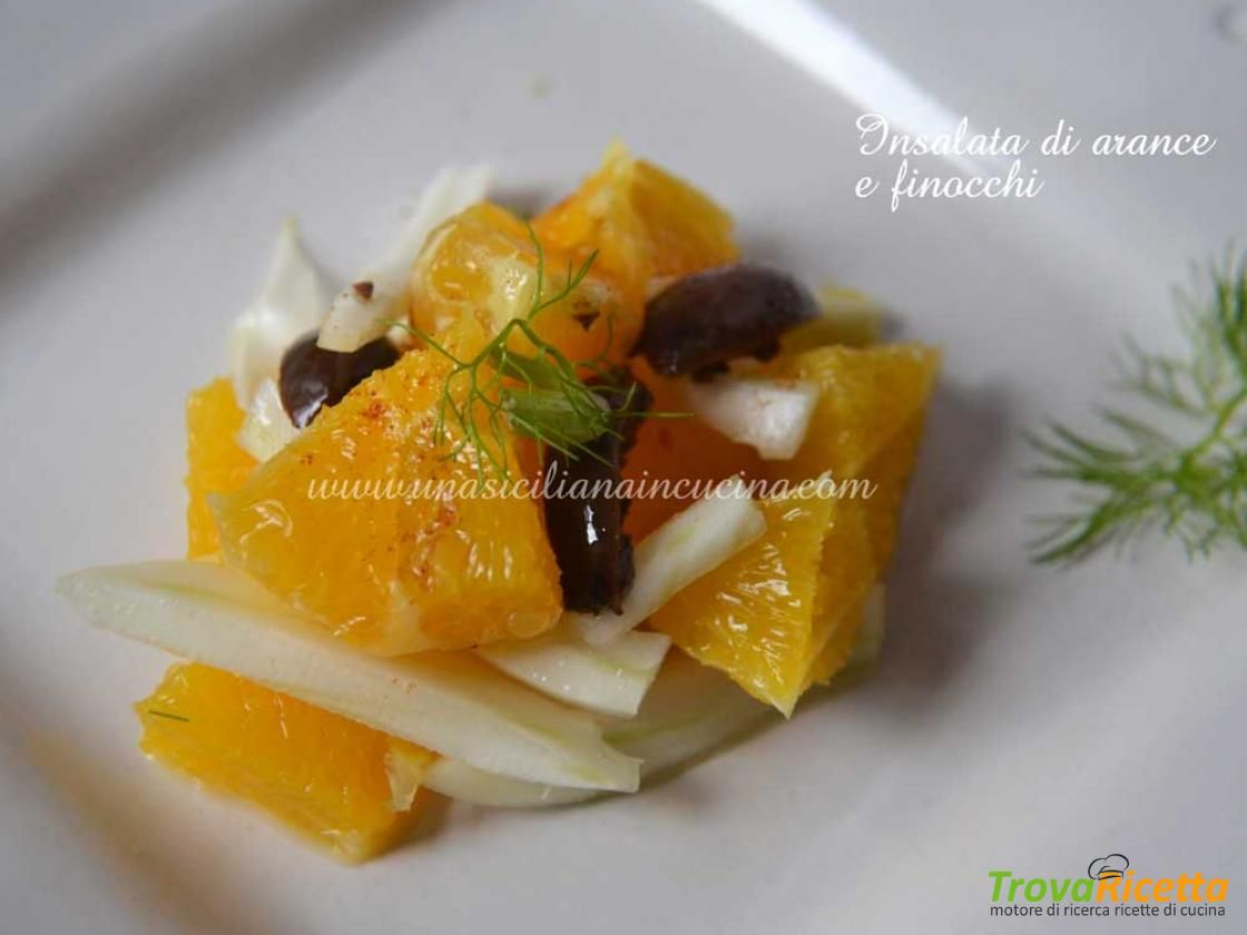 Insalata siciliana di arance e finocchi  #ricette #food #recipes
