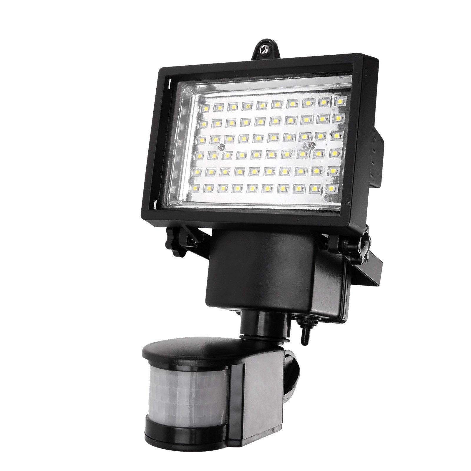 60 Led Solar Motion Light Security Lamp With Pir For Driveway Porches Decks Sheds 5m Detection Range Solar Motion Lights Solar Lights Garden Solar Power Panels