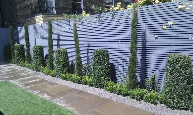 Clôtures et palissades de jardin modernes | Palissades et Clôtures ...