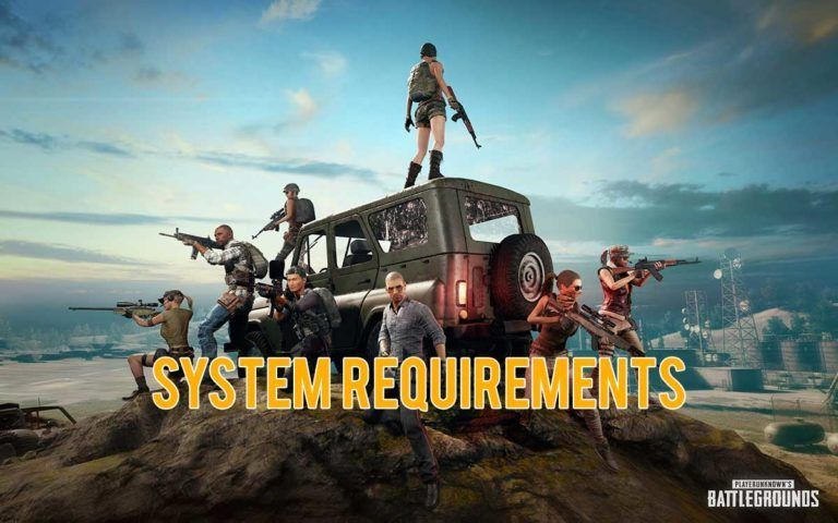 pubg mobile system requirements on pc