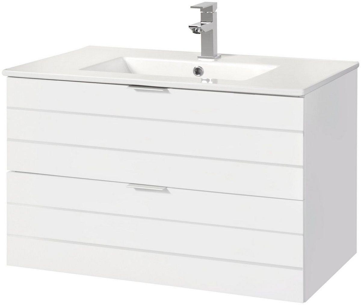 Waschtisch Luzern Waschplatz 80 Cm Breit Bad Set 2 Tlg Bad
