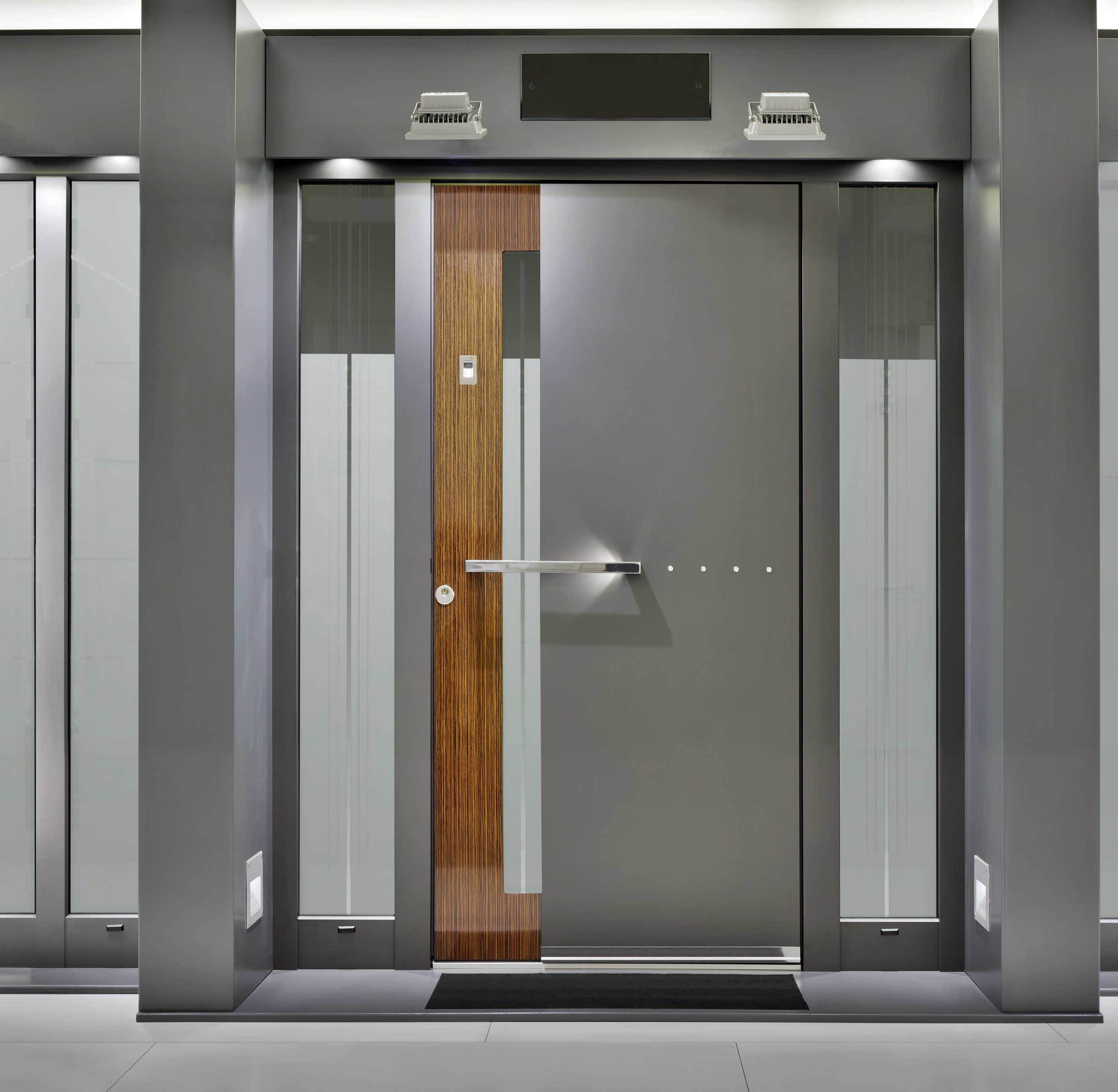 Modern Glass Entry Doors double modern wood front doors double and single with a side http