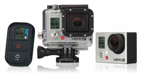 Check out our review for the GoPro Hero 3 ! Start you own
