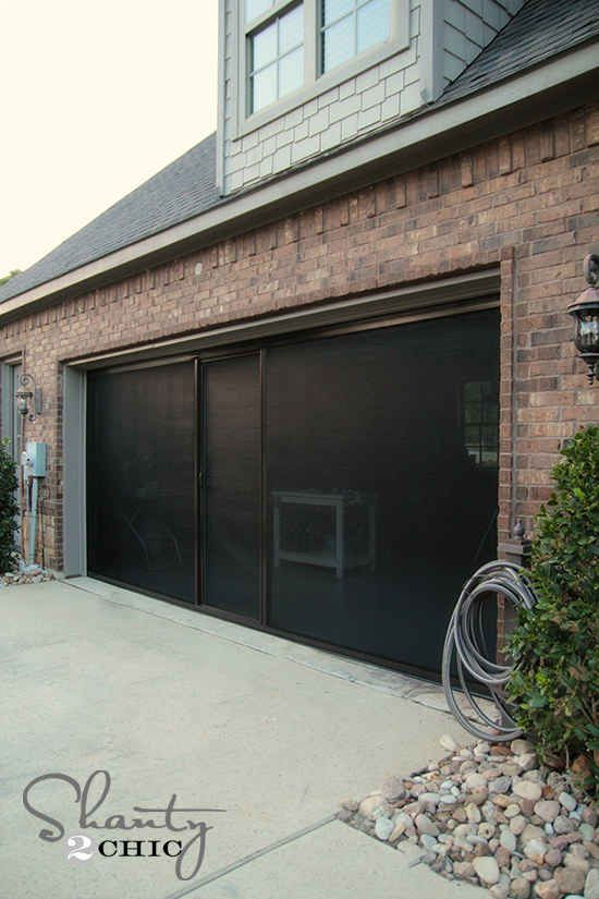 38 Borderline Genius Ways To Organize Your Garage Sliding Screen