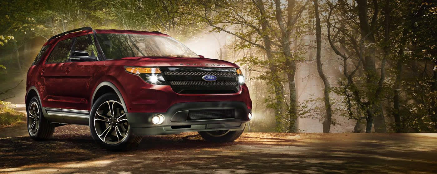 2015 Ford Explorer Available 3.5L EcoBoost® V6, Twin