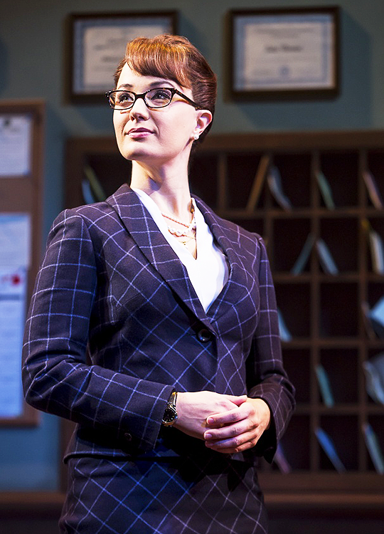 Sierra Boggess as Rosalie Mullins in School of Rock  | It's