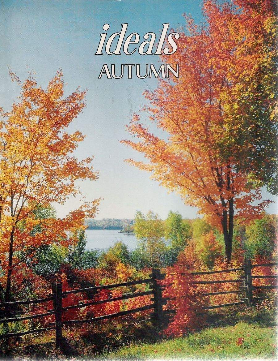 Cover of an Autumn Ideals magazine, although not the one I ...
