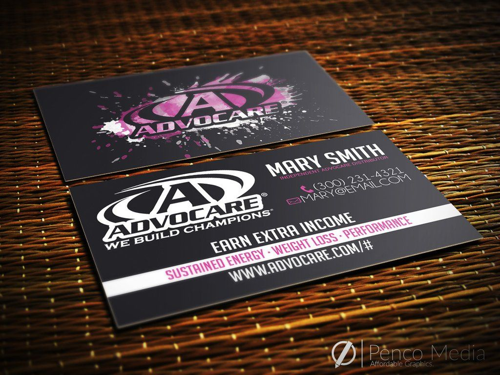 Custom advocare business card design 6 advocare pinterest custom advocare business card design 6 accmission Gallery
