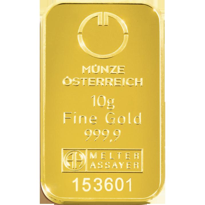 Goldbar By Austrian Mint Gold Bei Münze österreich Pinterest