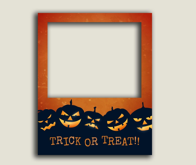 Halloween poster photobooth prop, Instant Download, giant diy photo ...