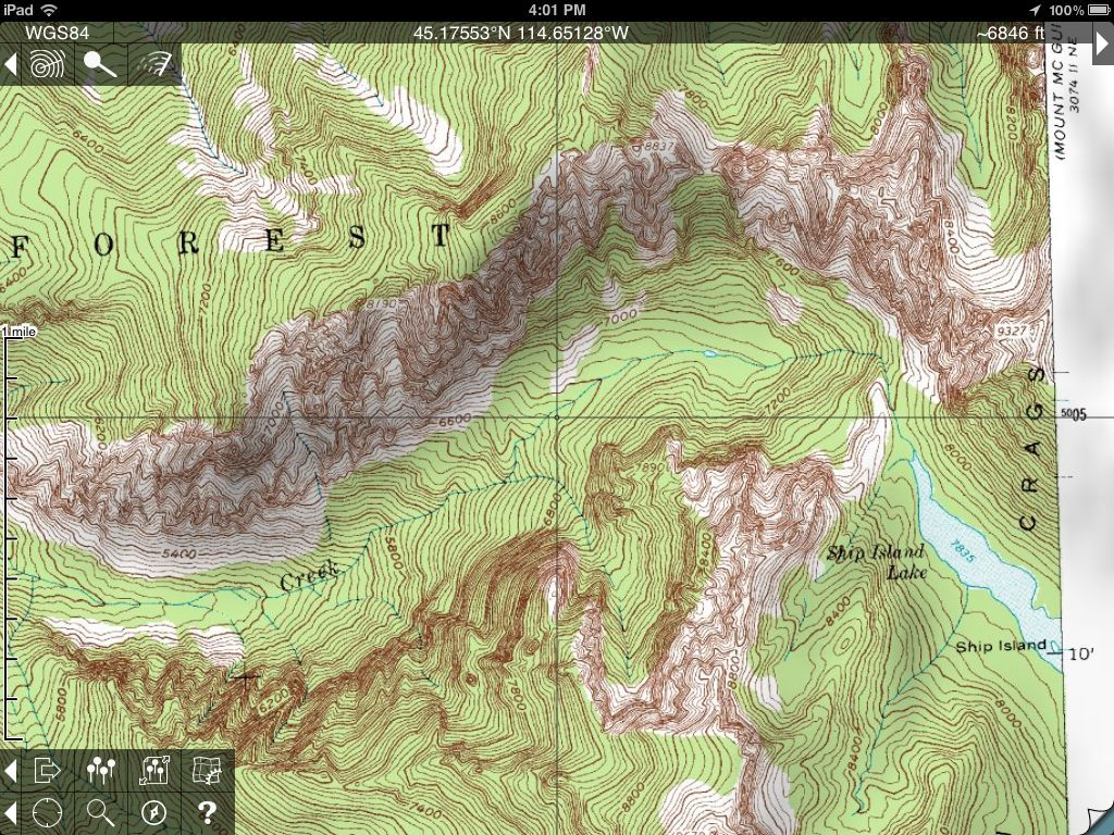 Topo maps for iphone travel pinterest my favorite topo map app for iphone and ipad is phil endecotts topo maps which blends the built in gps unit in your iphone with usgs topographical maps gumiabroncs Images
