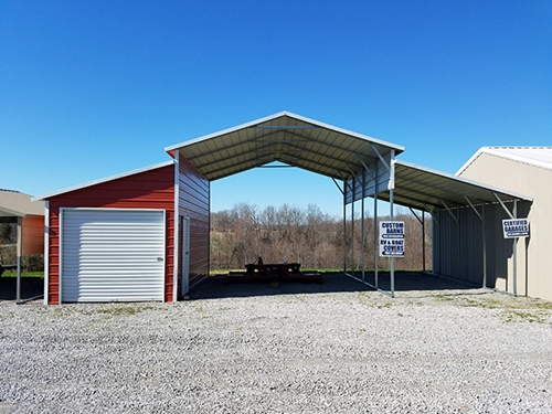 How Fast Can Portable Carports Be Put Up In 2020 Metal Carports Portable Carport Metal Garages