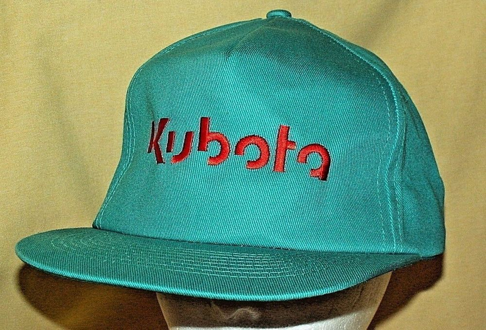Kubota Hat Baseball Ball Cap Turquoise Winter Snapback Philippines  Construction  KCBrand  BaseballCap fb5a1ffd65d