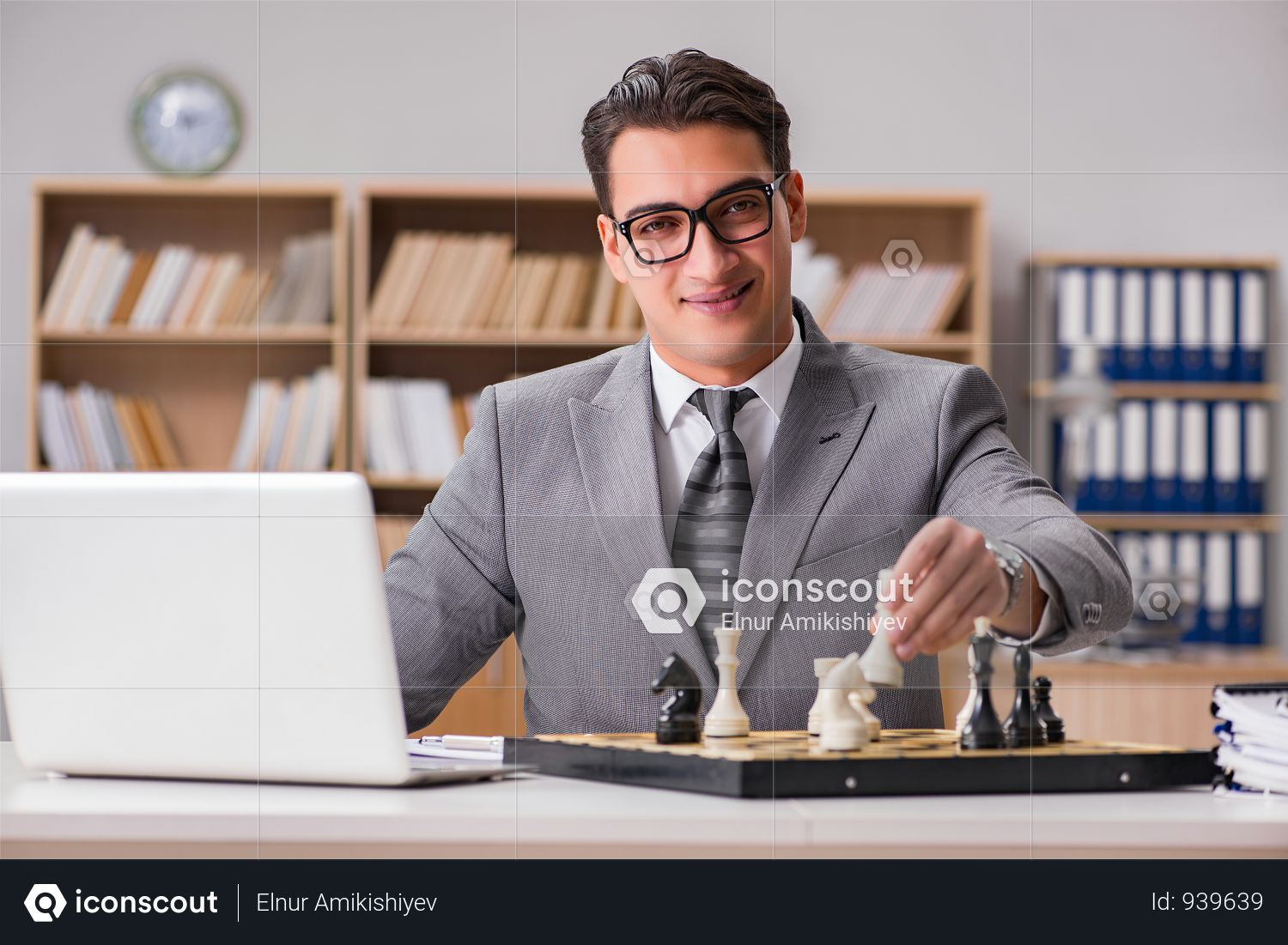 Premium Young Businessman Thinking About Business Strategy Photo Download In Png Jpg Format Business Strategy Business Man Business Photos