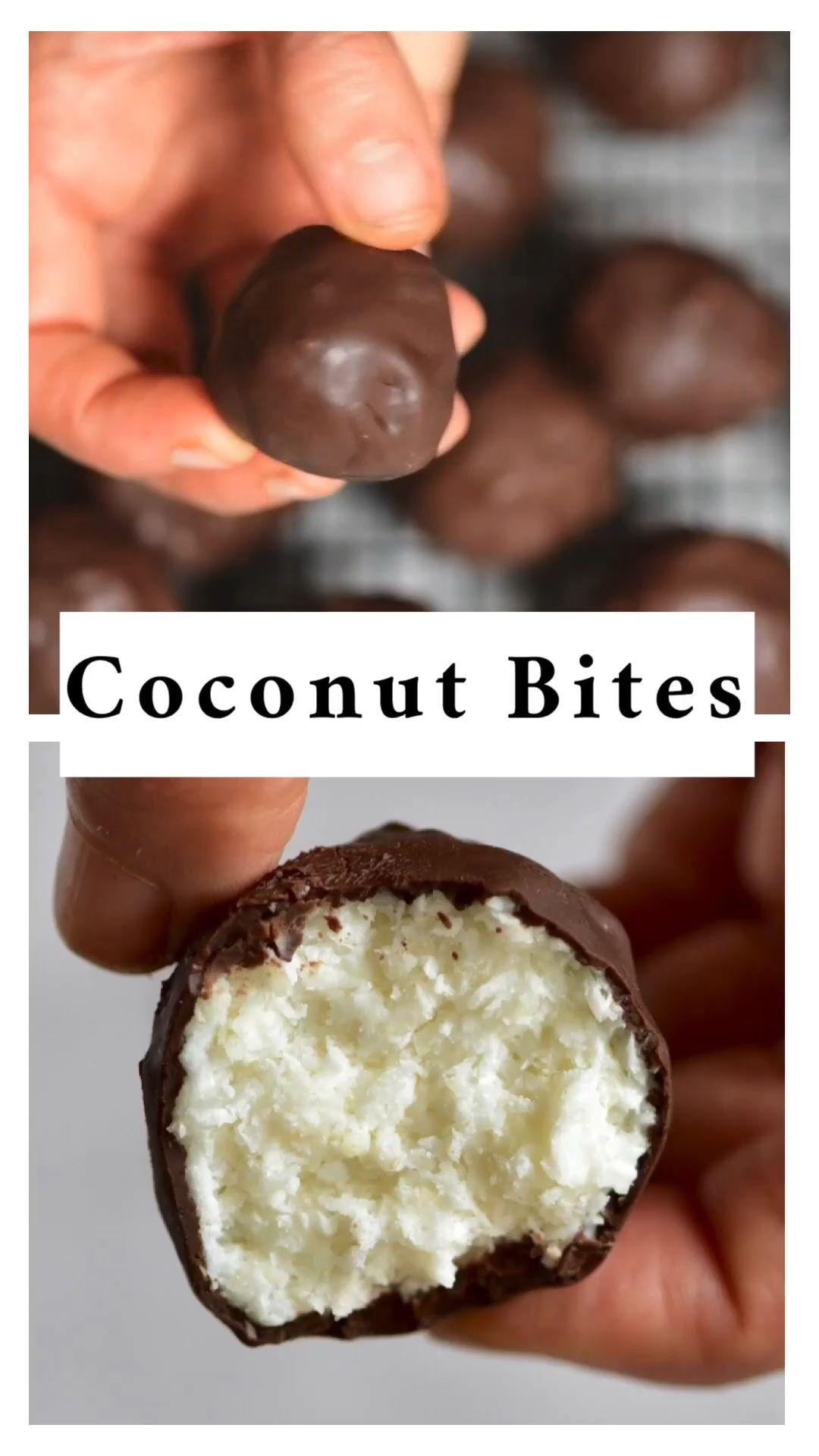 Tasty Keto Coconut Bites (Low-Carb) Recipe.