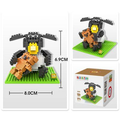 LOZ 240Pcs L- 9479 Shaun the Sheep Timmy Time Building Block Toy for Enhancing Social Cooperation Ability #shoes, #jewelry, #women, #men, #hats