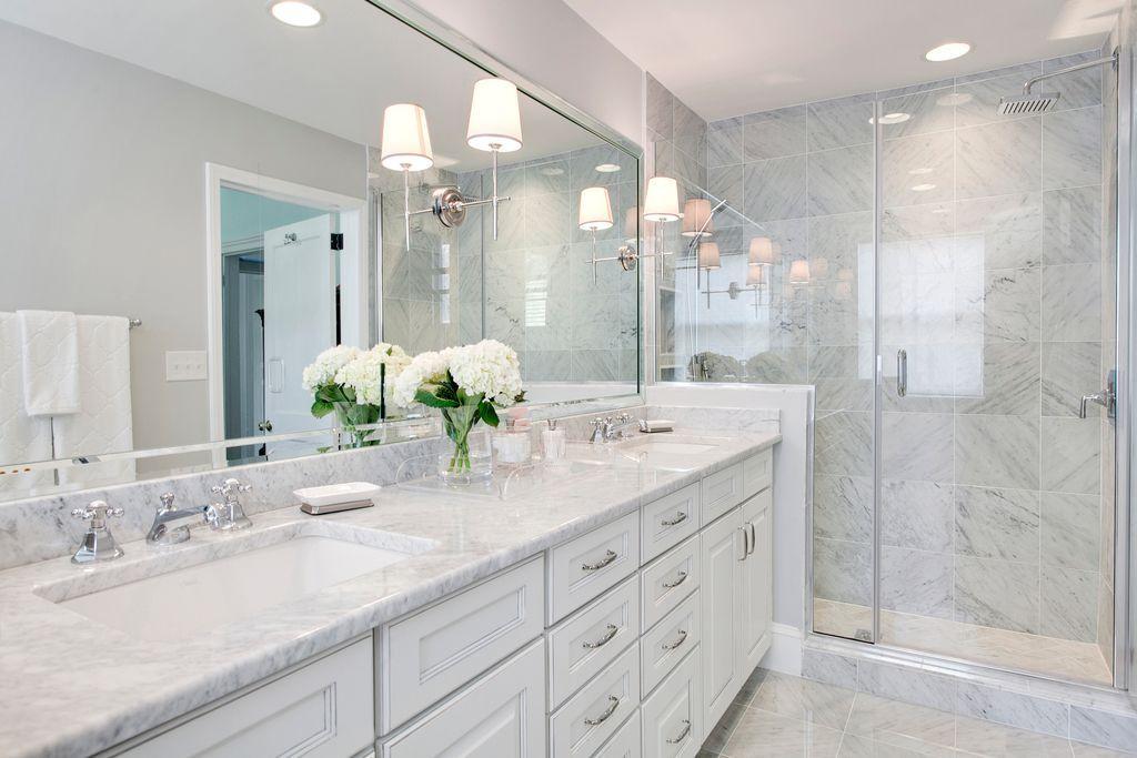 Bathroom Remodel, Bathroom White Cabinets