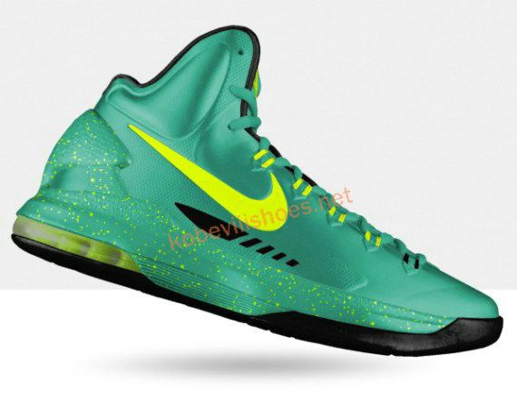 super popular 4f126 391d0 Kevin Durant shoes 2013 KD V Lucky Green Lime Green Black