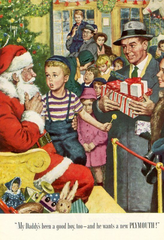 National Geographic Christmas Cards.The National Geographic Magazine 1949 Norman Rockwell Fans