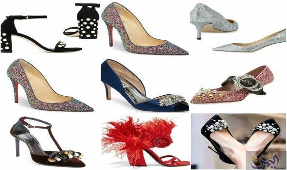 أكملي مظهرك بأحذية مميزة وجريئة لموسمي٢٠١٨ ٢٠١٧ Heels Shoes Fashion