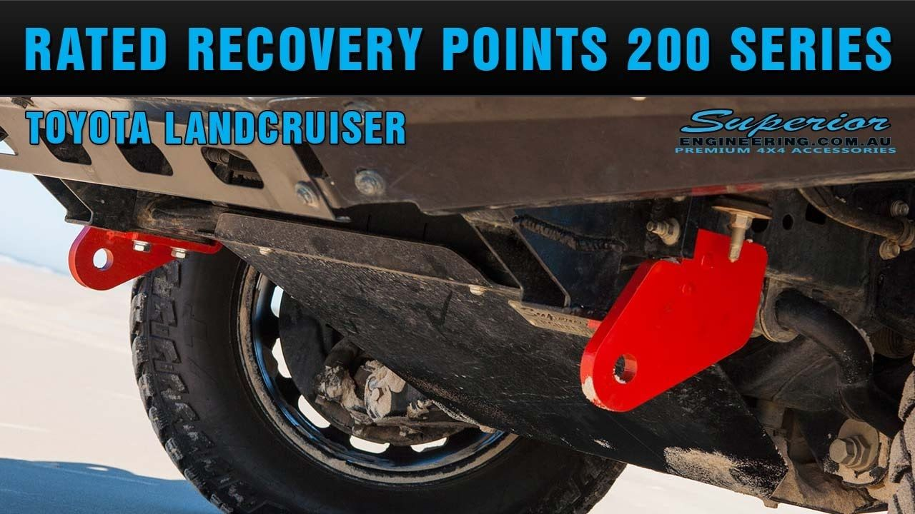 Check Out These Heavy Duty Rated Recovery Points To Suit The 200 Series Toyota Landcruiser From Superior Engineering Land Cruiser Superior Engineering Toyota