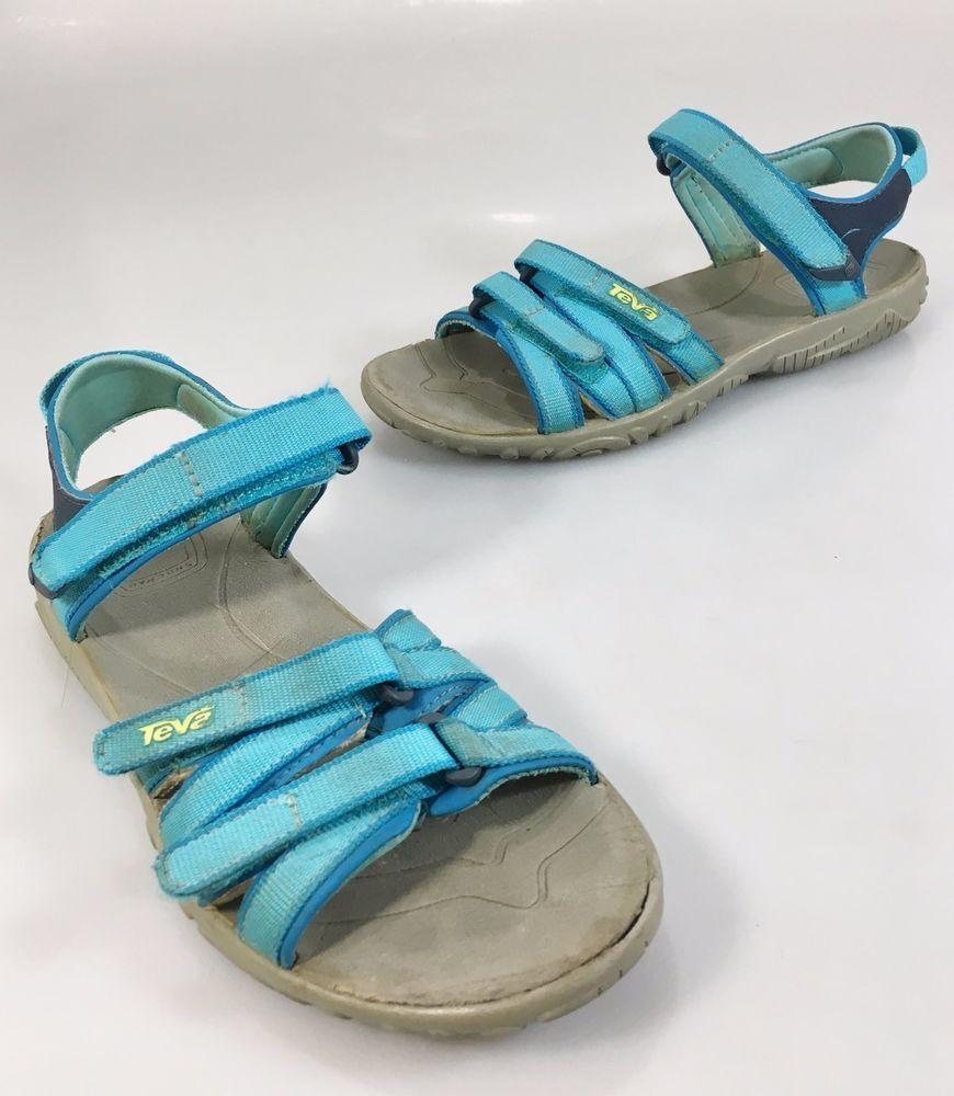990407ef04b6 Teva Youth 3 US 33EU Tirra Aqua Blue Sports Sandals 6096  Merrell  Sandals