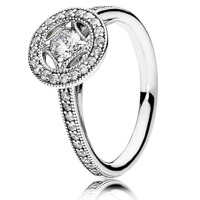 anillo pandora de plata