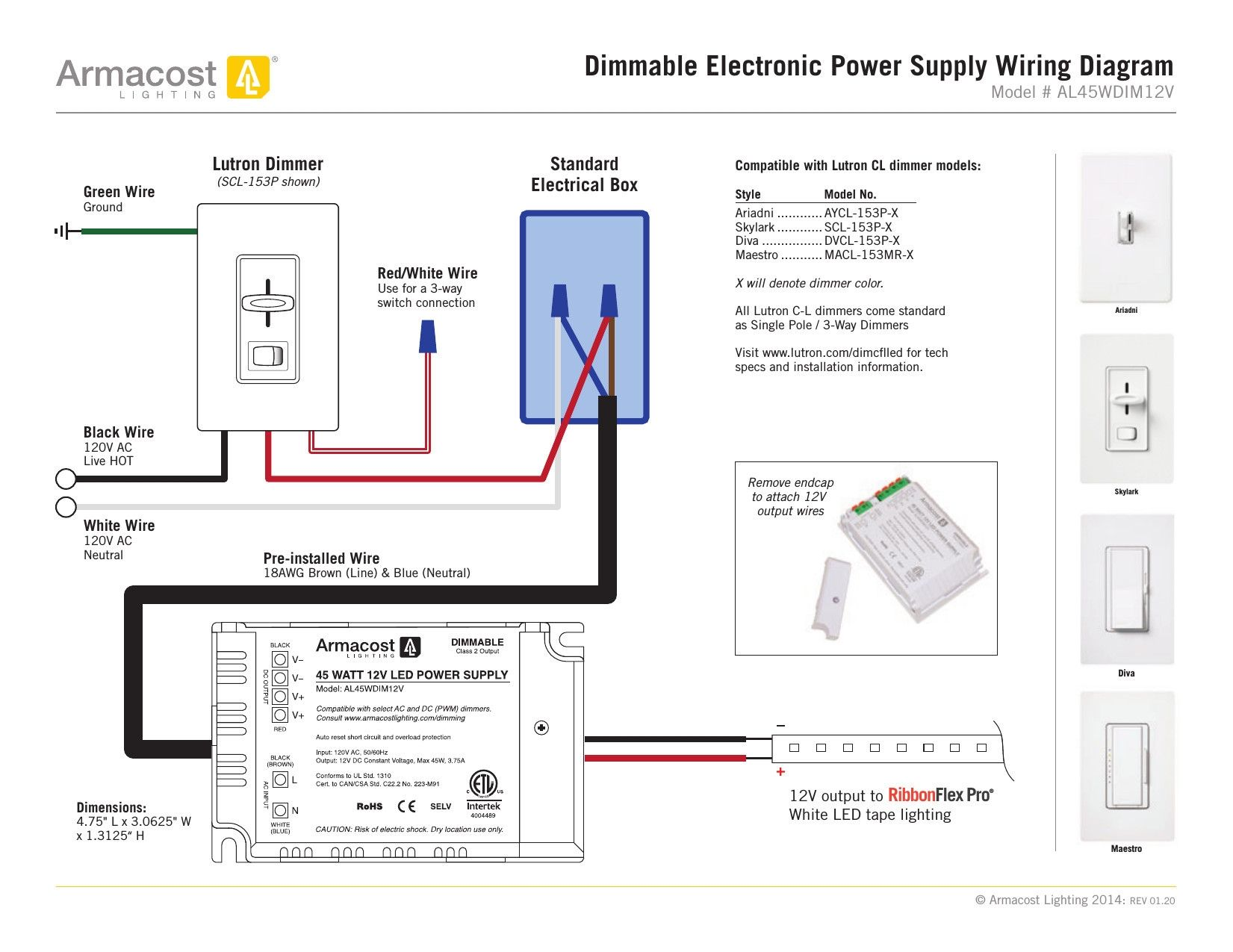 18+ Lutron Dimmer Wiring Diagram Wisconsin in 2021 | Lutron dimmers, 3 way switch  wiring, LutronPinterest