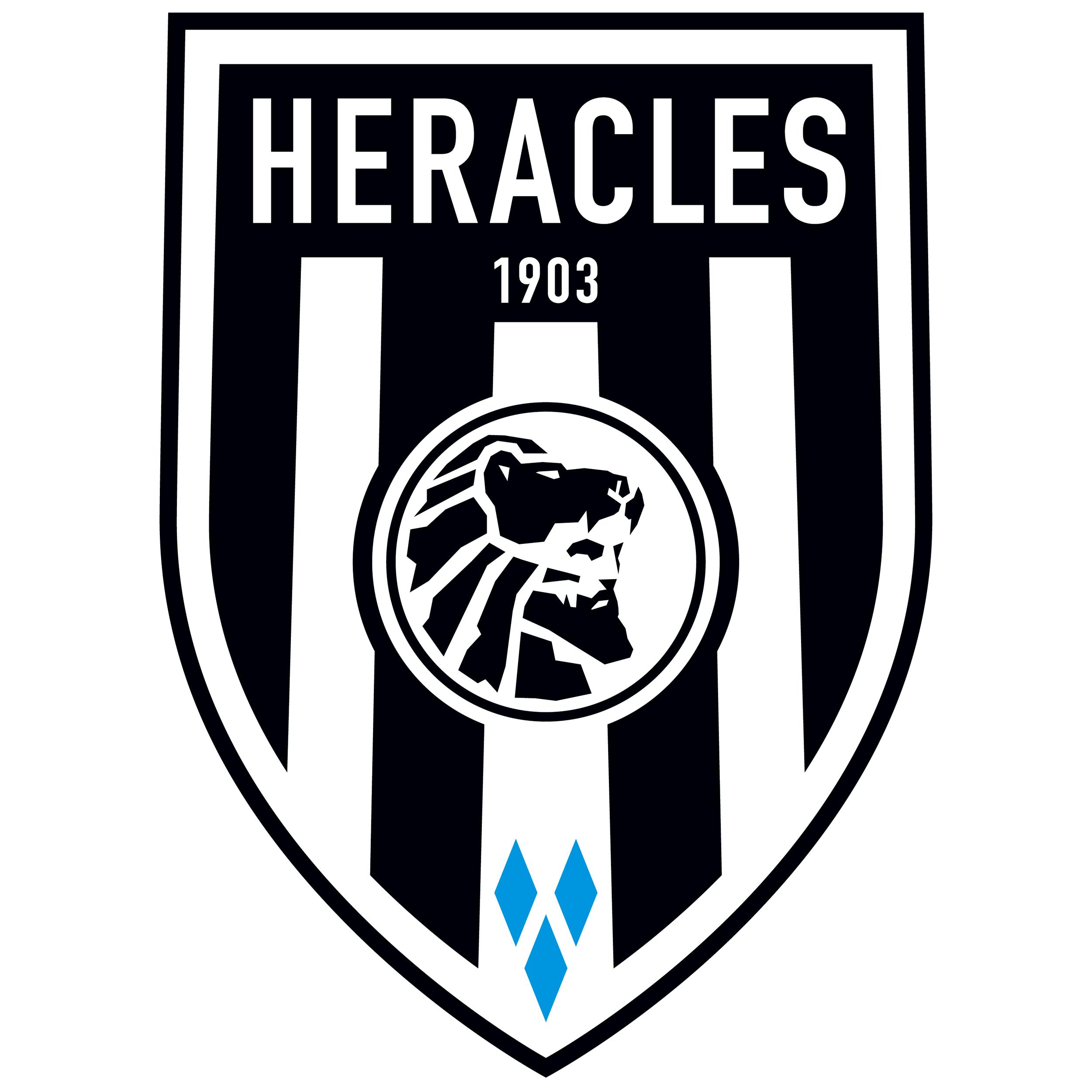 Heracles Almelo Almelo Ned Club Futbol Escudo