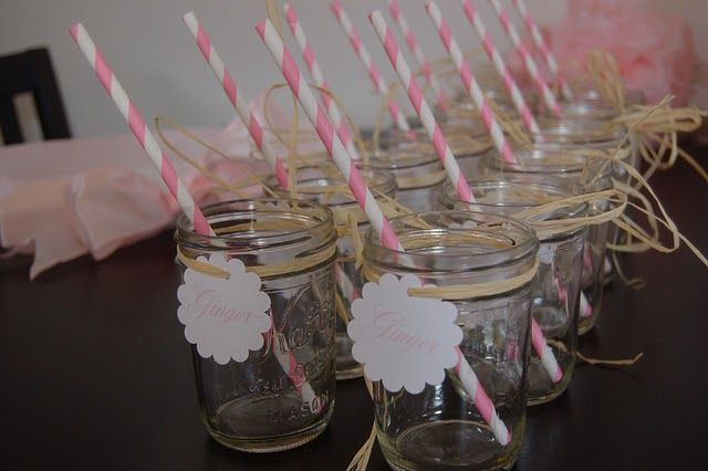 Baby Shower Themed Drinks ~ Baby shower ideas for girls sign from trendy