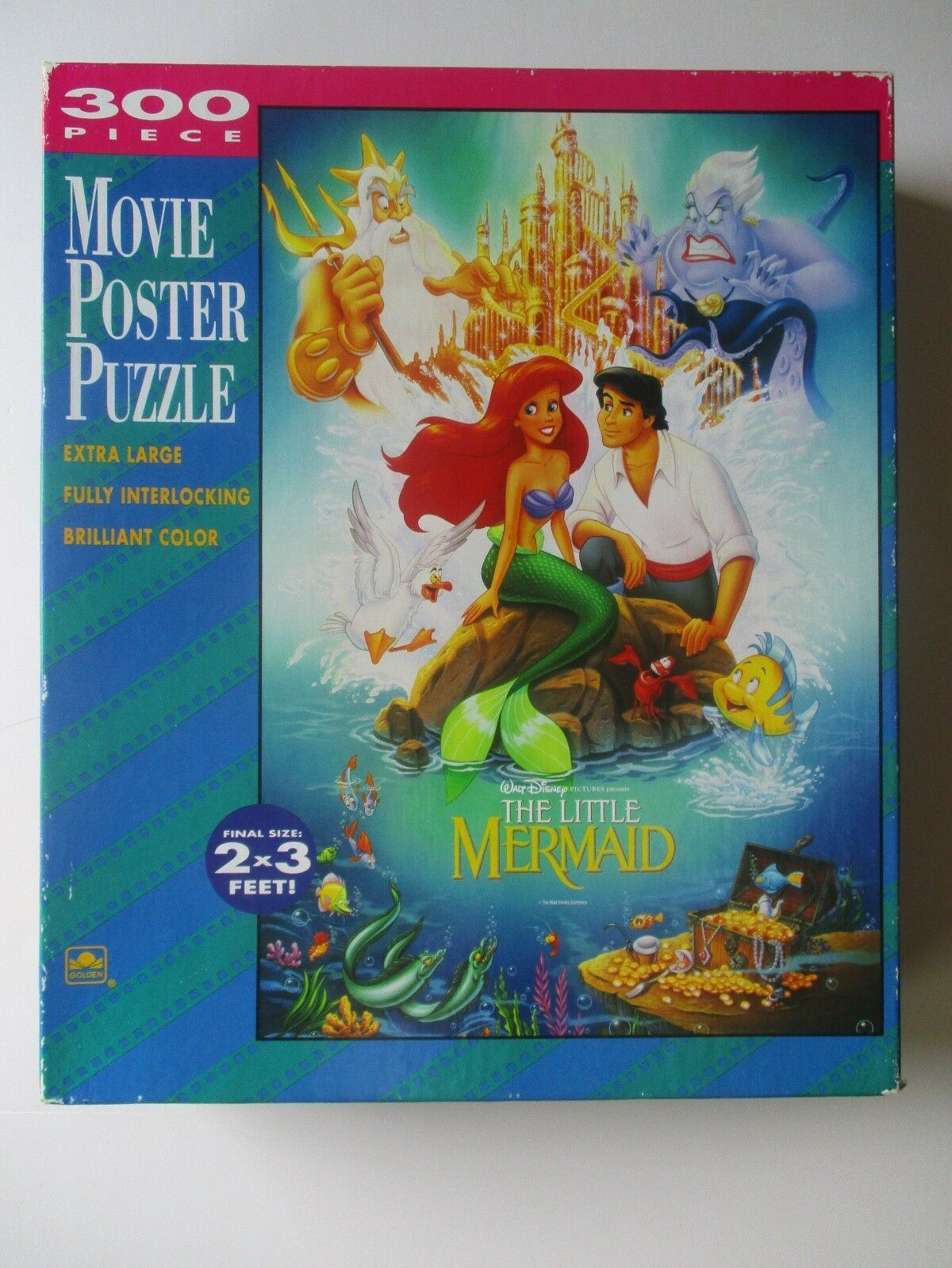 My Little Mermaid Movie Poster Puzzle 300 Pieces | Little ...