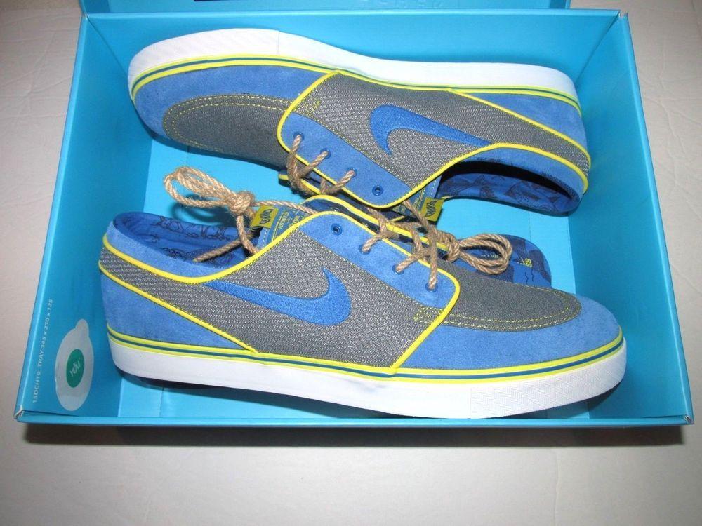 Nike Zoom Stefan Janoski Doernecher Freestyle Skate Shoes Mens 14 Battle  Blue  Nike  SkateShoes 8188e6780d93