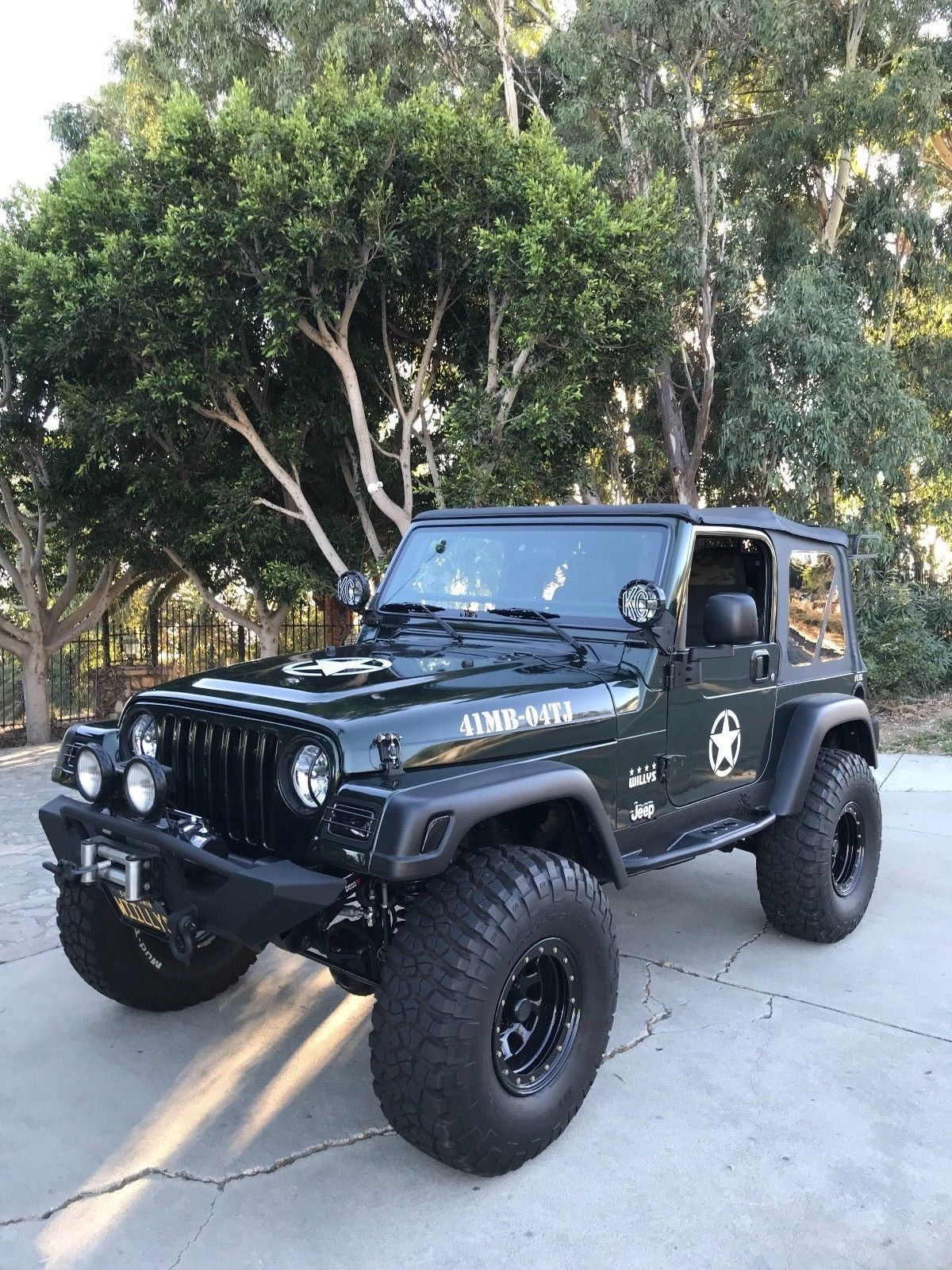 Willys Edition 2004 Jeep Wrangler 4 4 For Sale 2004 Jeep Wrangler Jeep Wrangler Jeep