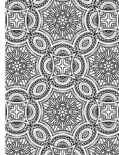 abstract doodle zentangle paisley coloring pages colouring adult detailed advanced printable kleuren voor volwassenen coloriage pour adulte anti stress