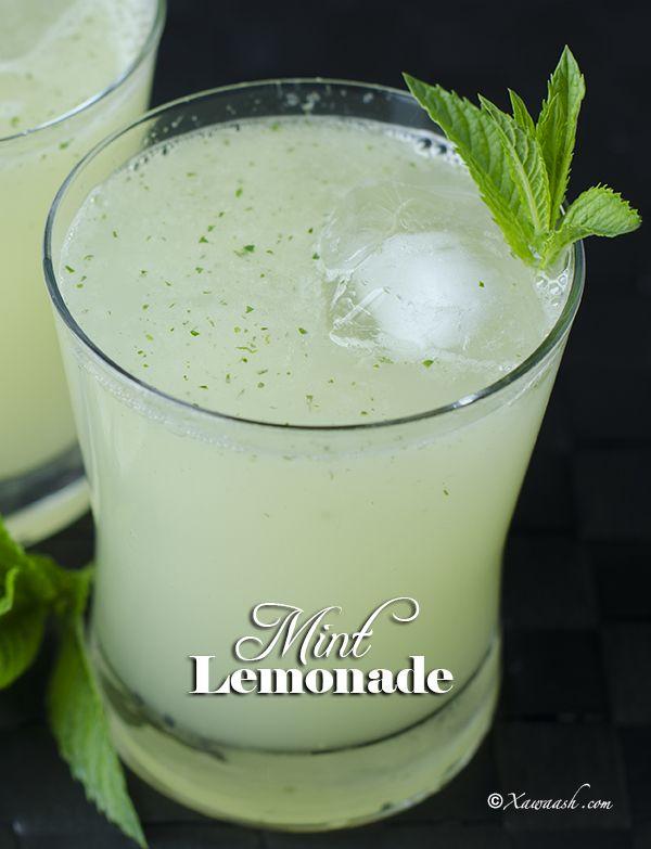 Mint Lemonade Casiir Liin Dhanaan Limonade A La Menthe عصير الليمون بالنعناع Xawaash Com Mint Lemonade Lemonade Mint