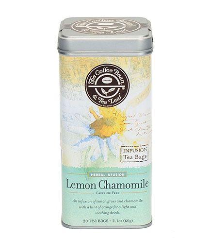 Lemon Chamomile Tea The Coffee Bean Tea Leaf Official Store Chamomile Tea Tea Leaves Coffee Beans