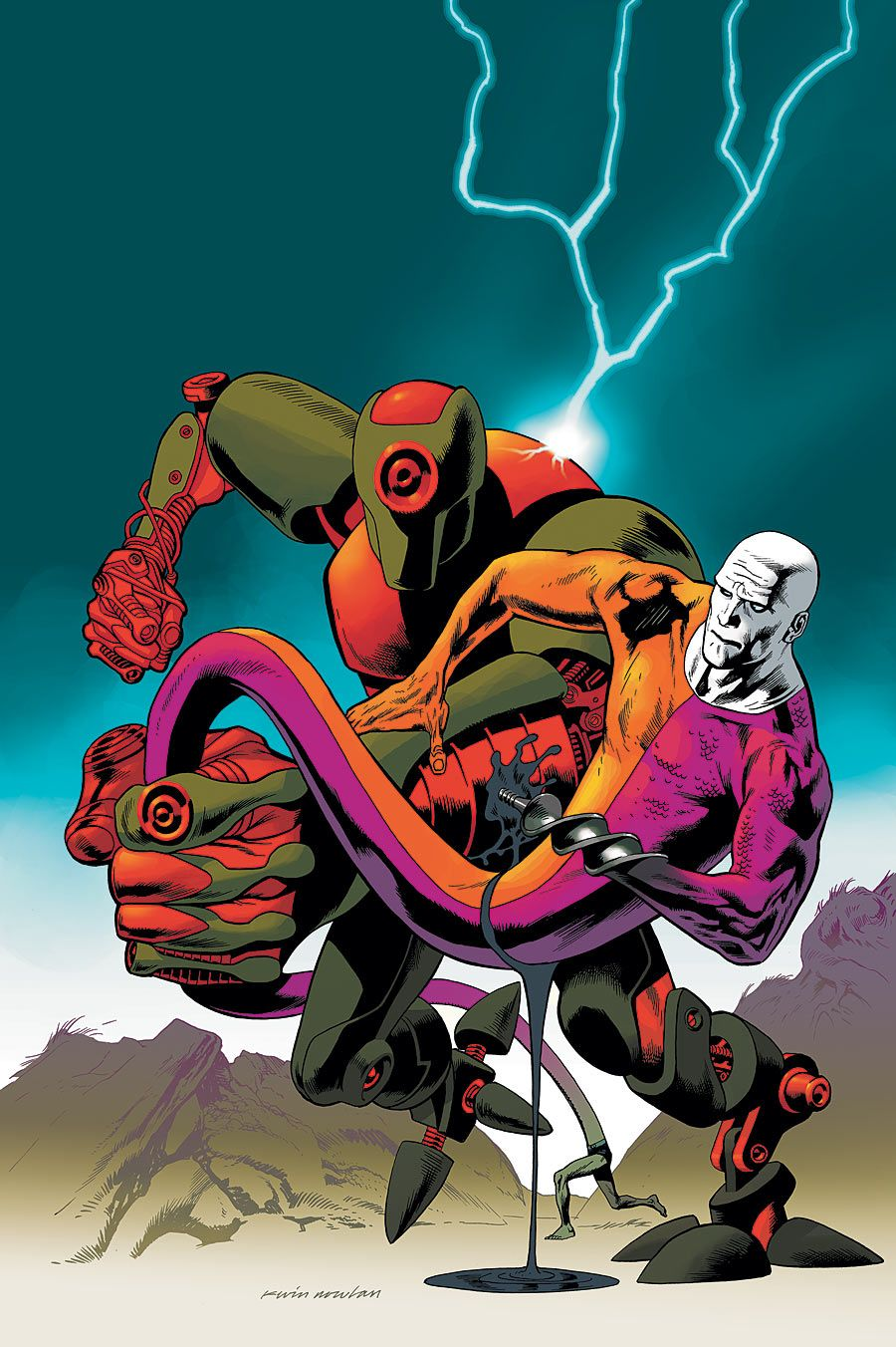 Red Tornado (Character) - Comic Vine