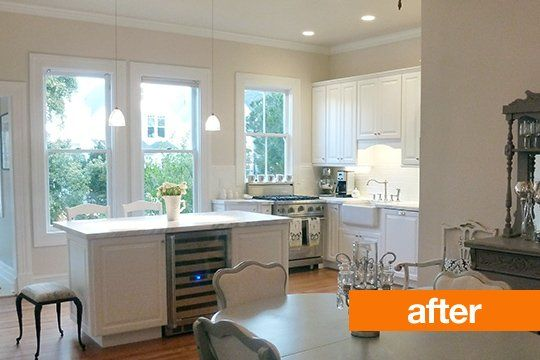 Before And After Kyles Kitchen Remodel Farmhouse Kitchen