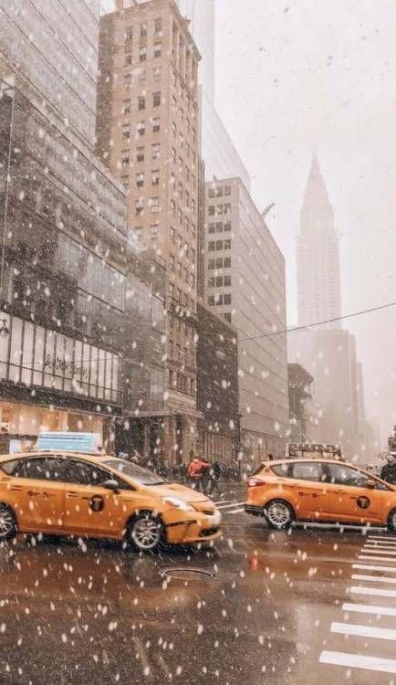 Winter New York Iphone Wallpaper Scenery Favorite Places New York