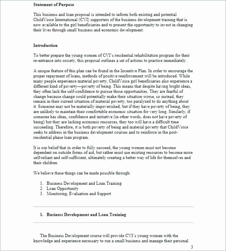 Personal Loan Proposal Template In 2020 Proposal Templates