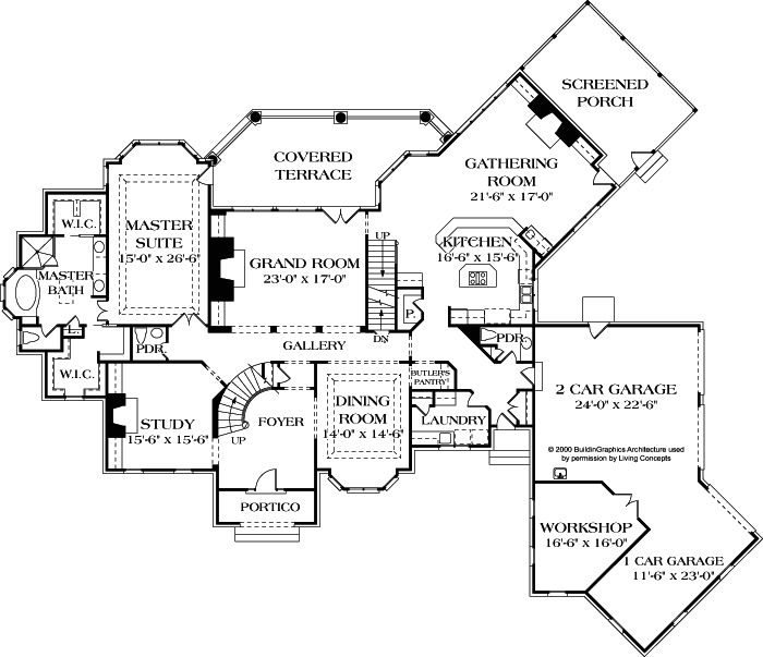 About Living Concepts House Plan Ashmont #(H 5003)