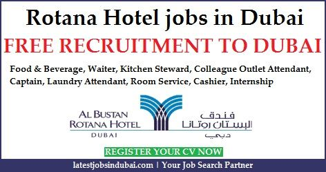 Rotana Hotel Jobs 2019 In Dubai Latest Vacancy Dubai Abu Dhabi
